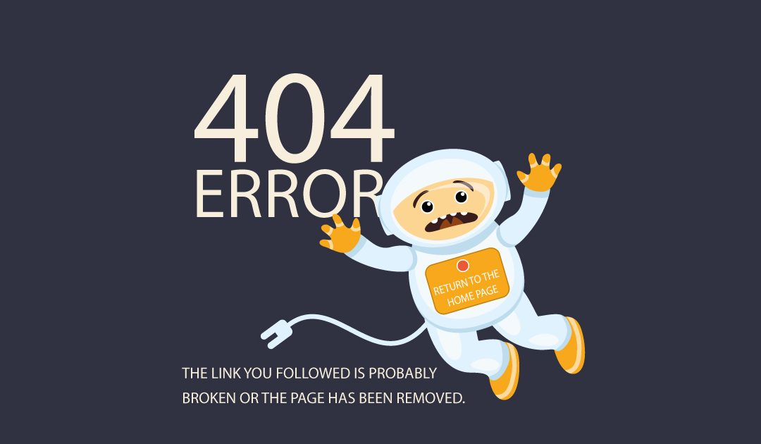 E-commerce, la page d'erreur 404 peut générer des conversions