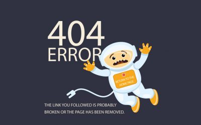 E-commerce, use the 404 error page to trigger conversions