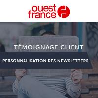 Ouest-France, +40% de sessions générées avec les newsletters personnalisées