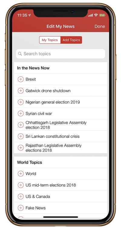 BBC-News-Personnalisation-explicite-choix-des-sujets-application-mobile