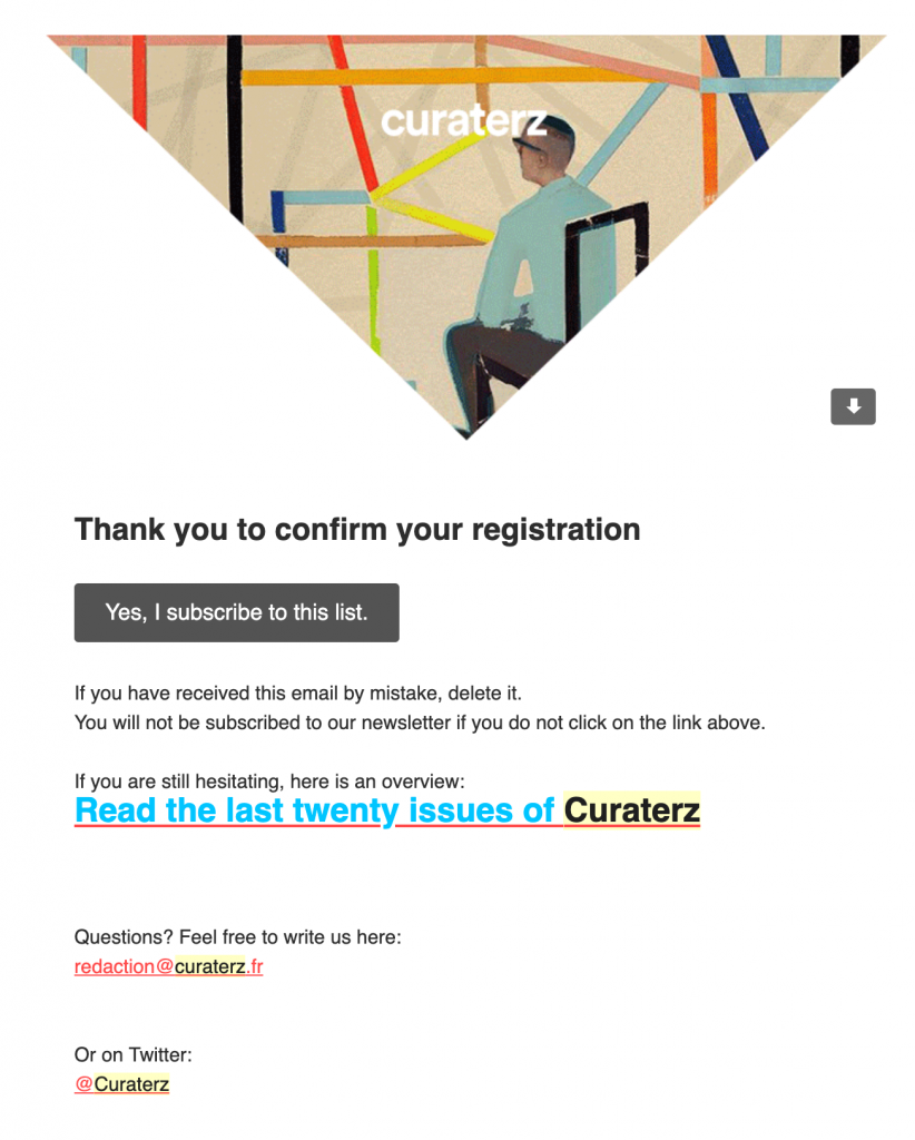 Curaterz-double-optin-newsletter